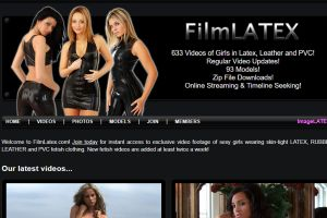 FilmLatex.com: Latex Fetish Videos