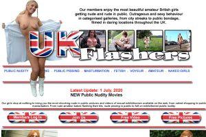 UK Flashers – Engelse Amateur vrouwen, naakt in het openbaar